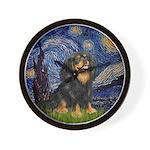 Starry Night Cavalier Wall Clock