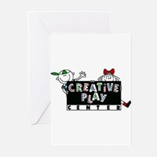 Funny Center Greeting Cards (Pk of 10)