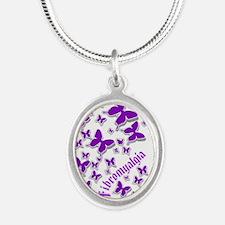 Fibromyalgia Butterflies 3 Necklaces