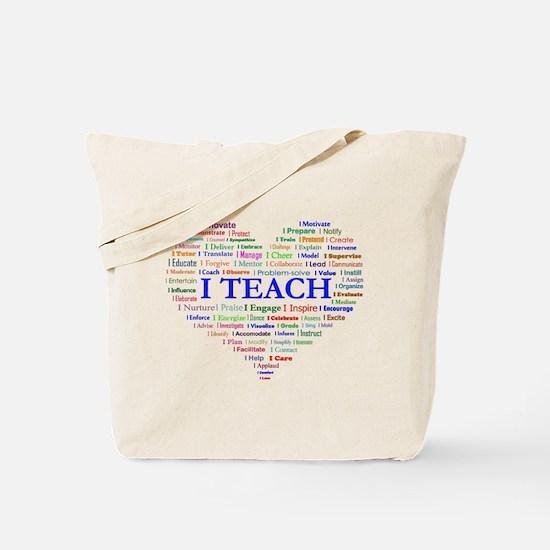 Big Hearted Teacher Tote Bag