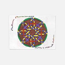 ACA circle.JPG 5'x7'Area Rug