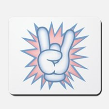 Toony Rock Hand Mousepad