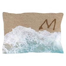 LETTERS IN SAND M Pillow Case