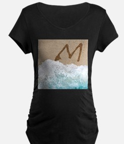 LETTERS IN SAND M Maternity T-Shirt