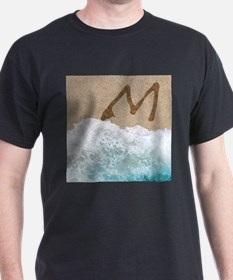 LETTERS IN SAND M T-Shirt