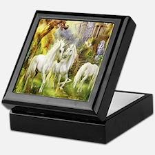 Beautiful Unicorns Keepsake Box