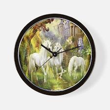 Beautiful Unicorns Wall Clock
