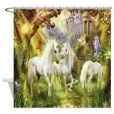 Unicorns Shower Curtains
