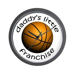 Basketball - Dad's Franchise Wall Clock