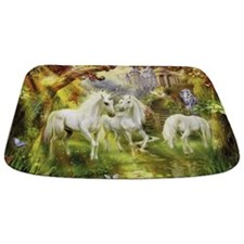 Beautiful Unicorns Bathmat