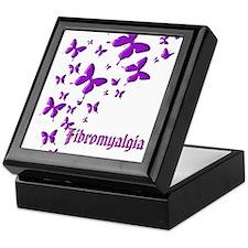 FIBROMYALGIA BUTTERFLIES Keepsake Box