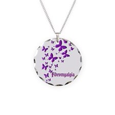 Fibromyalgia Butterflies Necklace