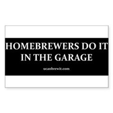 garage Bumper Stickers