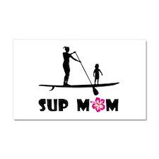 SUP_MOM Car Magnet 20 x 12