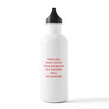 pinochle Water Bottle