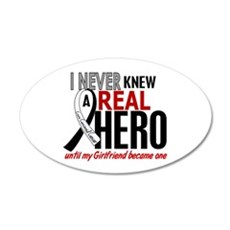 Carcinoid Cancer Real Hero 2 Wall Decal