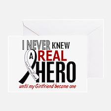 Carcinoid Cancer Real Hero 2 Greeting Card