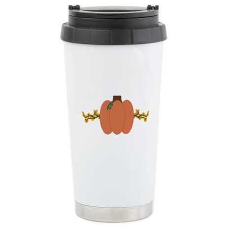 Autumn Pumpkin Travel Mug