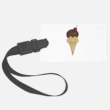 Ice Cream Cone Luggage Tag