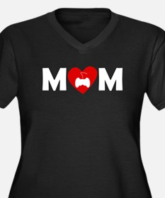 Video Games Heart Mom Plus Size T-Shirt