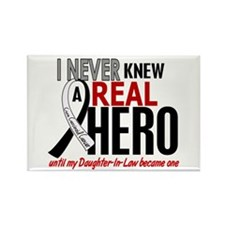 Carcinoid Cancer Real Hero 2 Rectangle Magnet