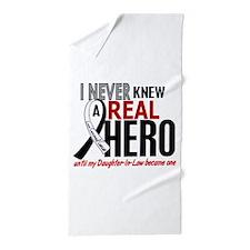 Carcinoid Cancer Real Hero 2 Beach Towel
