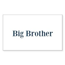 Blue Big Brother Decal