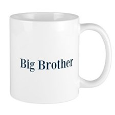 Blue Big Brother Mugs