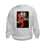 Lady & Cavalier (BT) Kids Sweatshirt