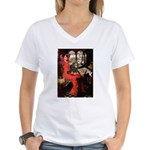 Lady & Cavalier (BT) Women's V-Neck T-Shirt