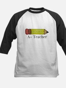 A+ Teacher Baseball Jersey