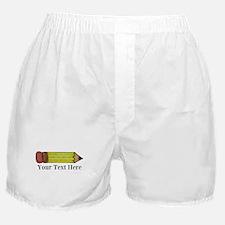 Personalizable Pencil Boxer Shorts
