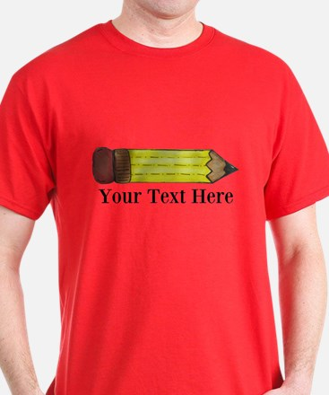 Personalizable Pencil T-Shirt