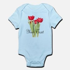 Personalizable Tulips Body Suit