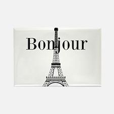 Bonjour Eiffel Tower Magnets