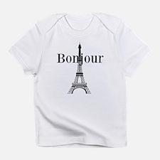 Bonjour Eiffel Tower Infant T-Shirt