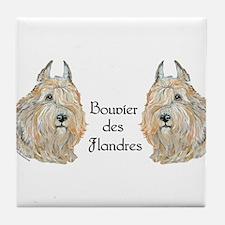 Bouvier des Flandres Tile Coaster