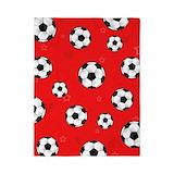 Soccer comforter Duvet Covers