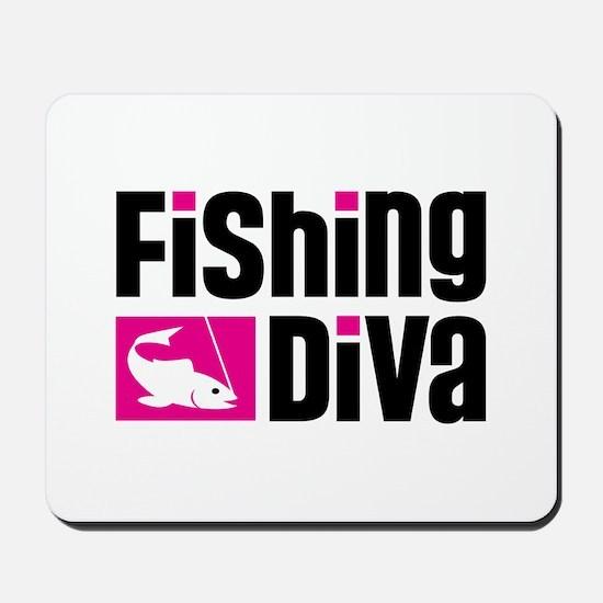 Fishing Diva Mousepad