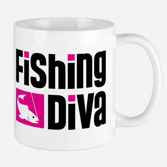 Fishing Diva Mug