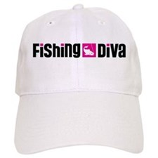 Fishing Diva Baseball Cap