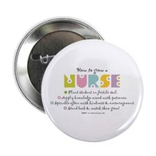 "How to Grow a Nurse 2.25"" Button (10 pack)"