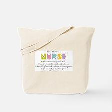 How to Grow a Nurse Tote Bag