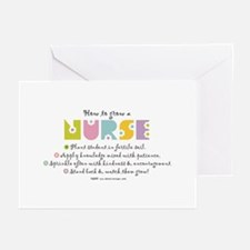 How to Grow a Nurse Greeting Cards (Pk of 10)
