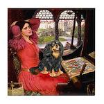 Lady & Cavalier (BT) Tile Coaster