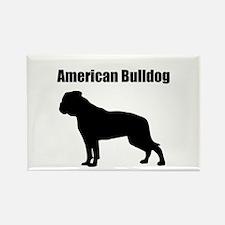 American Bulldog Magnets