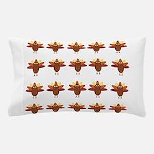 Cute Thanksgiving Turkeys Pillow Case