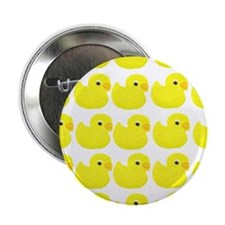 "Rubber Ducks 2.25"" Button (10 pack)"