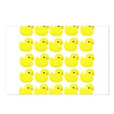 Rubber Ducks Postcards (Package of 8)