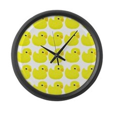 Rubber Ducks Large Wall Clock